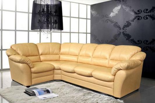 кожаный угловой диван сенатор в гостиную фото цены каталог